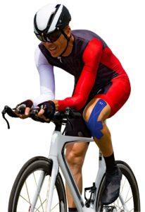 Kinetic tape biking